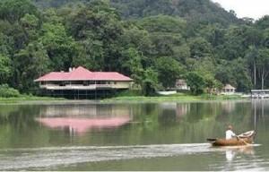 Río Chagres, de vital importancia para las ciudades de Panamá y Colón.