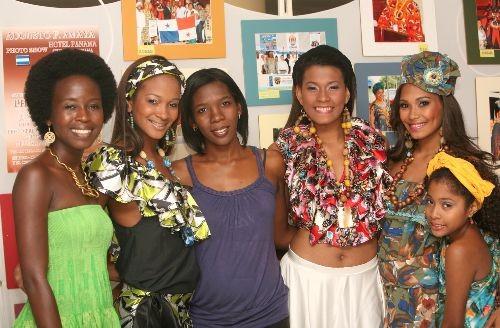 Afropanameñas orgullosas de su origen.