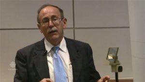 Dr. Agustín Lage, director del Centro de Inmunología Molecular de La Habana, participando de un encuentro en la ciudad de Quebec, 2016.