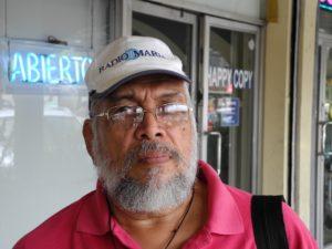Pedro Acosta, dirigente de UNCUREPA. (Foto Bayano).