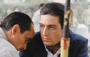 """Michael Corleone """"no es nada personal, sólo son negocios"""""""