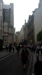 Evacuación en Londres por amenaza de bomba