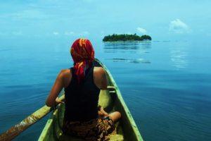 El hogar en Kuna Yala es el mar.
