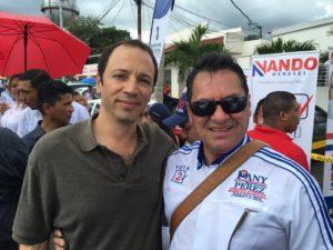 Ambiente de camaradería reinó en Colón. Ali Waked y Pany Pérez Candidatos a la primera subsecretaría