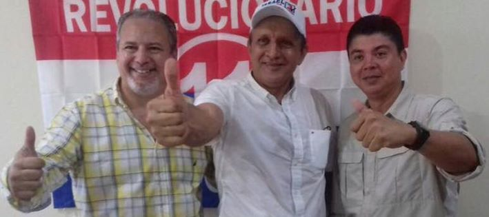 Palaccios, Rodríguez, Herrera CDN electos