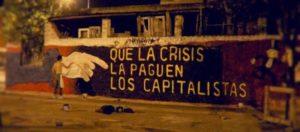 Expresiones de malestar ante la crisis capitalista global.