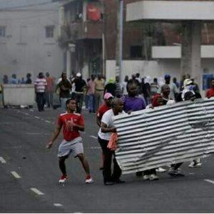 Las protestas no fueron escuchadas y ello generó el detonante de los enfrentamientos.