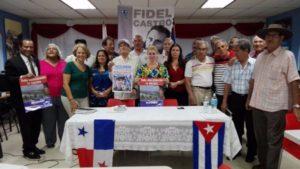 Acto de solidaridad con Cuba en Panamá Oeste.