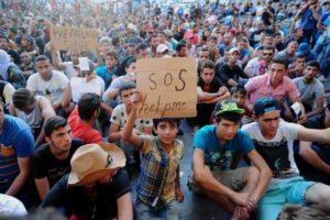 Migrantes económicos en Europa. (Foto: AFP).