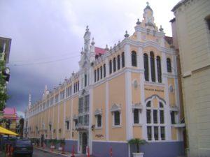 Sede de la Cancillería panameña.