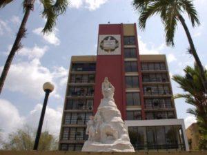 Sede de la Rectoría de la Universidad de Panamá.
