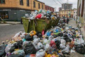 Crisis de recolección de la basura