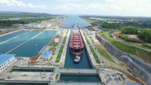 Tercer juego de esclusas del Canal de Panamá.