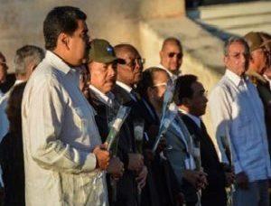 Presidentes dan el último adiós al comandante Fidel Castro.